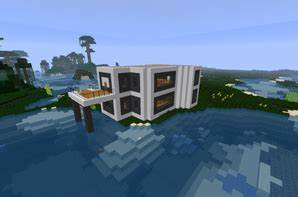 Awesome Comment Faire Une Chambre Moderne Minecraft Gallery Seiunkel ...