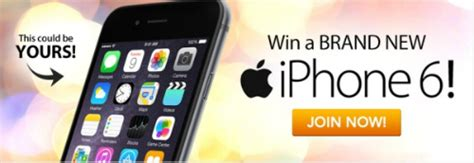 win a iphone 6 win an apple iphone 6 space gray 64gb smartphone giveaway