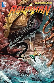 Aquaman DC Comic Book Cover