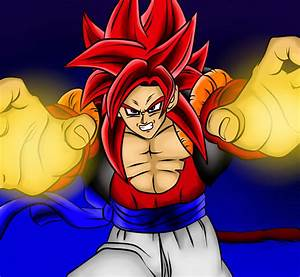 DRAGON BALL Z WALLPAPERS: Gogeta Super Saiyan 4