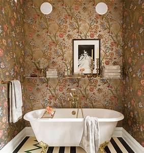 Tapeten Badezimmer Beispiele : die beste farbe f r badezimmer aussuchen 50 beispiele ~ Markanthonyermac.com Haus und Dekorationen