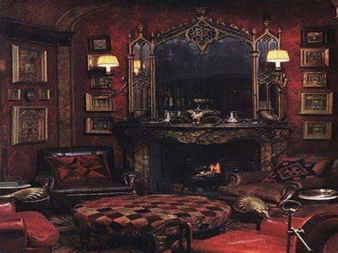 Goth Bedroom Decorating Ideas, Victorian Gothic Decorating