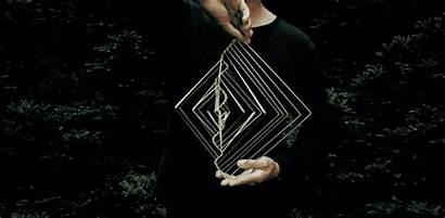 Kinetic Fibonacci Spinner Wave Square Dimensional Mesmerizing