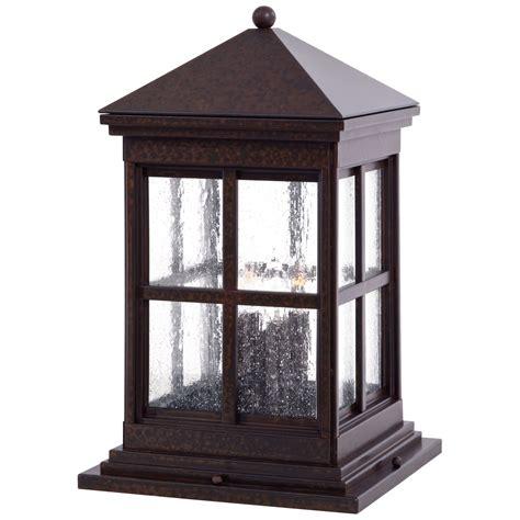 berkeley column mount exterior light minka lavery pier