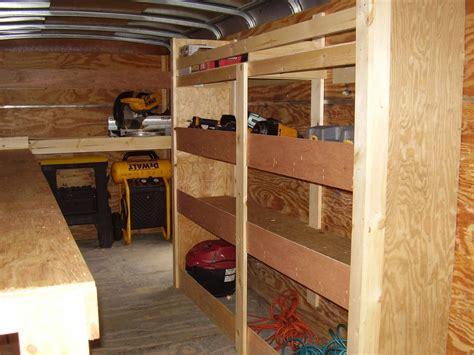 V Nose Trailer Cabinet Plans Home Furniture Decoration