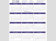 Calendar 2108