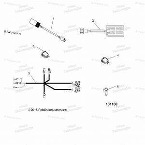 Polaris Atv 2017 Oem Parts Diagram For Electrical  Hand  U0026 Thumb Warmers A17sxd95a9