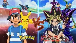 Pokemon Crossover Anime  Ash Vs Yugi Muto  Pokemon Vs Yugioh