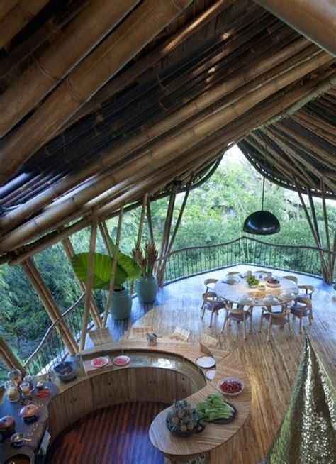 bamboo tree house interior homemydesign