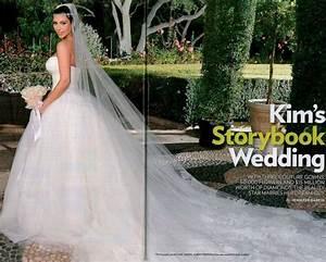 Fashion news kim kardashian39s wedding dresses first for Kim kardashian s wedding dress