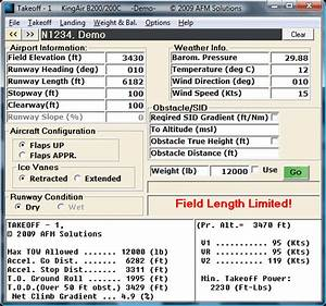 Types Of Twins Chart Aircraft Performance And Weight And Balance App Kingair B200