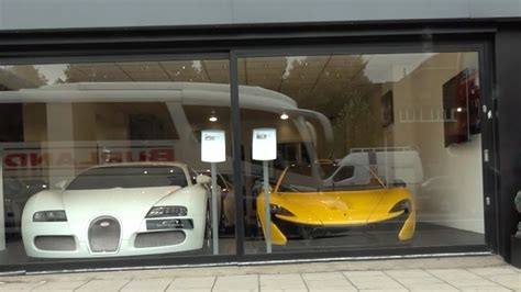 London's Most Exclusive Car Dealership With Bugatti