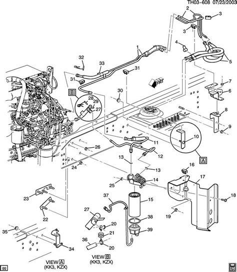 Topkick Kodiak Fuel Filter Bracket
