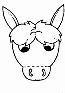 best photos of donkey mask template printable donkey With donkey face mask template