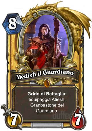 testo your guardian medivh il guardiano medivh the guardian servitore