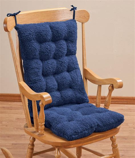 Ebay Rocking Chair Pads by Sherpa Rocking Chair Cushion Set By Oakridgetm Ebay