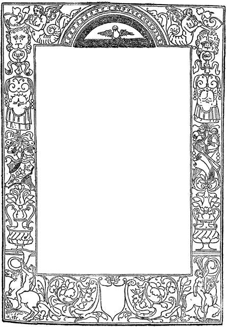ornate border clipart