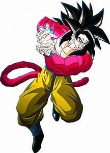 Goku, Ssj4, Render, 9, Dokkan, Battle, By, S