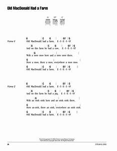 Old Macdonald Had A Farm Sheet Music By Traditional