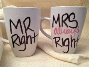 Mrs Always Right : bold messy font mr right mrs always right mugs by tkco on etsy funny pinterest ~ Eleganceandgraceweddings.com Haus und Dekorationen