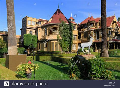 Winchester Mystery House Stockfotos & Winchester Mystery