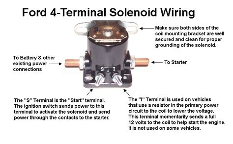 ford 4 terminal solenoid wiring mopar connection magazine a comprehensive daily resource for