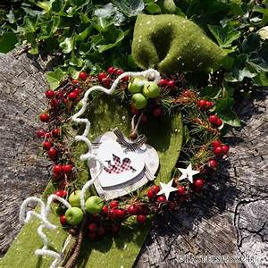 Landhausstil Deko Selber Machen : t rschmuck herz weihnachten selber basteln floristik basteln ~ Eleganceandgraceweddings.com Haus und Dekorationen