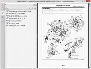 Subaru Forester Parts Diagram