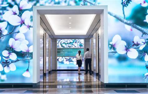 esi design installs interactive wall display  washington