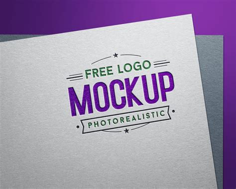 You will surely find the best one. Free Fully Customizable Debossed Logo Mockup PSD - Designbolts