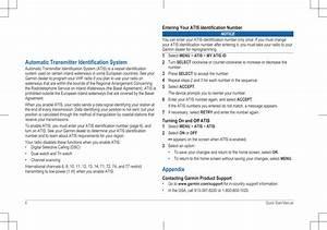 Garmin 01653 Marine Vhf Radio User Manual