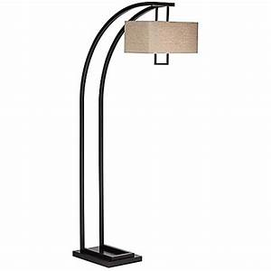 buy pacific coast lightingr aiden place 2 light arc floor With threshold floor lamp oil rubbed bronze finish