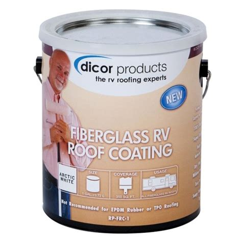 Dicor® RP-FRC-1 - 1 Gallon Fiberglass RV Roof Coating - CAMPERiD.com