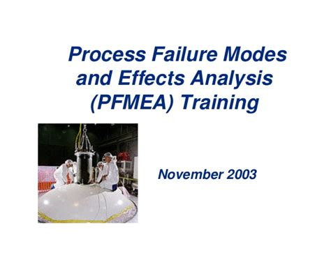 process failure modes and effects analysis pfmea process fmea