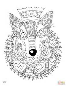 Tribal Pattern Coloring Pages