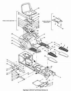 Mtd 13at608h016  2001  Parts Diagram For Fender  U0026 Seat