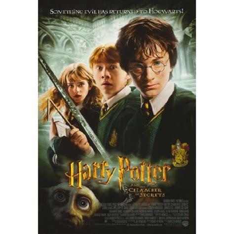 harry potter et la chambre des secret en affiche du harry potter et la chambre des secrets