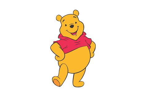 Winnie The Pooh by Winnie The Pooh Vector