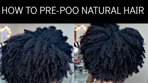 How To Hair by How To Pre Poo Hair 4c Hair Type Jumieanne