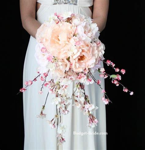 cherry blossom wedding bouquet cherry blossom flowers