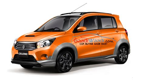 maruti celerio  cross launched  india price engine specs features