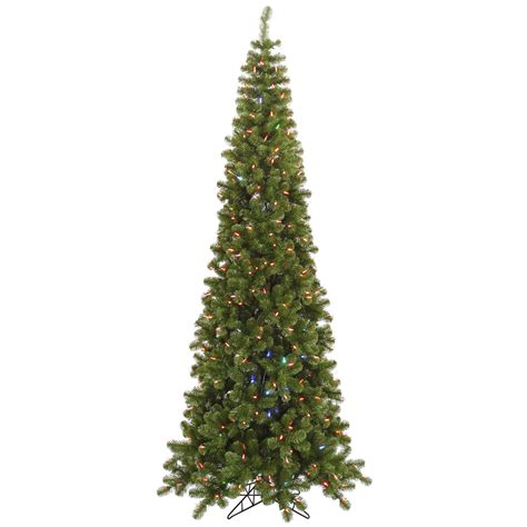 pencil christmas trees clearance vickerman 7 5 pencil tree with 400 color change led lights