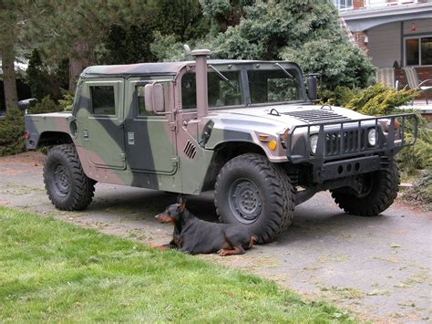 Hummer H1, Vehicles And