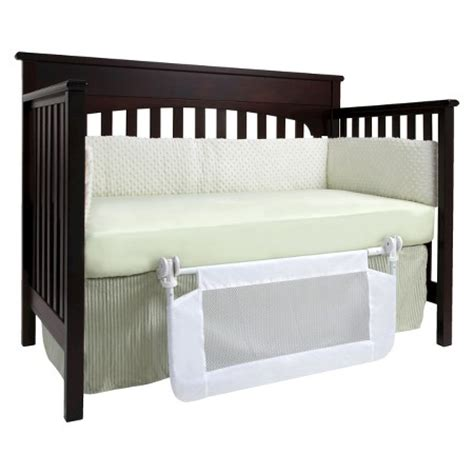 dex products convertible crib bed rail 33 quot x 16 quot target