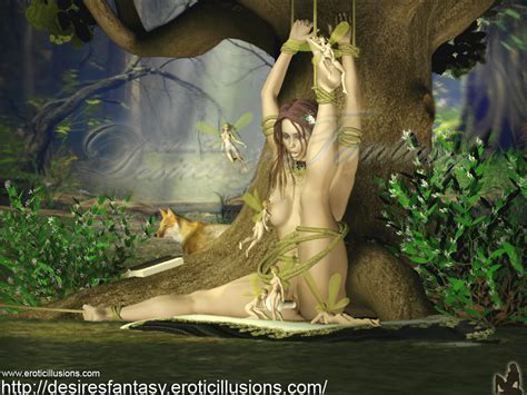 Nude Fantasy Erotic Lesbian Art