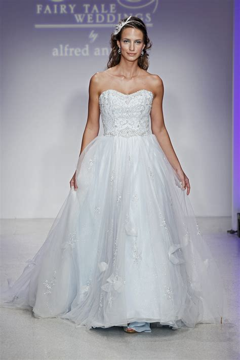 Disney Fairy Tale Weddings by Alfred Angelo Cinderella Diamond Wedding Dress Style #232 NEW