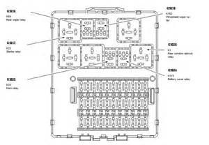 similiar diagram ford focus fuse diagram keywords 2005 ford focus fuse box diagram on ford focus fuse box diagram image