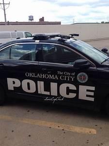 Oklahoma City, Oklahoma Police patrol car with ALPR ...