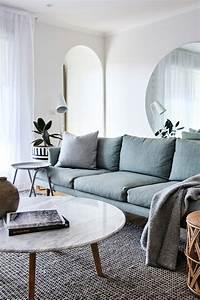 Table Basse Marbre But : salon avec table basse marbre blanc ~ Teatrodelosmanantiales.com Idées de Décoration