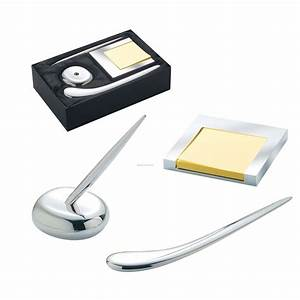 3 piece executive desk gift set w pen letter opener With letter opener holder
